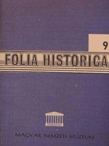 Cennerné Wilhelmb Gizella - Folia Historica 9. [antikvár]