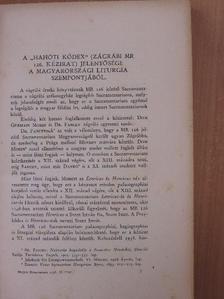 Csapodi Csaba - Magyar Könyvszemle 1938. április-június [antikvár]