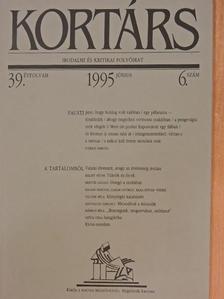 Ágh István - Kortárs 1995. június [antikvár]