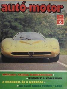 Almássy Tibor - Autó-Motor 1980. március [antikvár]