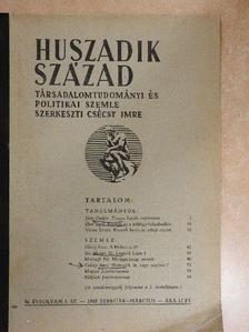 Csécsy Imre - Huszadik Század 1948. február-március [antikvár]