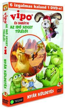 Ido Angel - VIPO és barátai-Az Idő Sziget túlélői 2.-es DVD - Nyár küldetés (0)