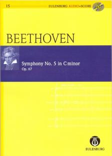 BEETHOVEN - SYMPHONY NO.5 IN C MINOR OP.67 POCKET SCORE + CD, EDITED BY RICHARD CLARKE
