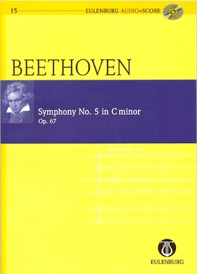 BEETHOVEN - SYMPHONY NO.5 IN C MINOR OP.67 POCKET SCORE + CD, EDITED BY RICHARD CLARKE