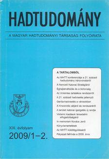 Nagy László - Hadtudomány XIX. évfolyam 2009/1-2. [antikvár]