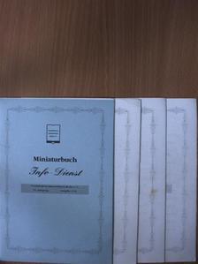 Angelika Jäck - Miniaturbuch Info-Dienst 2000/1-4. [antikvár]