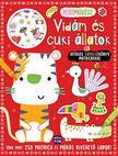 Mini művész - Vidám és cuki állatok - Játékos színezőkönyv matricákkal - Több mint 250 matrica és mókás kivehető lapok