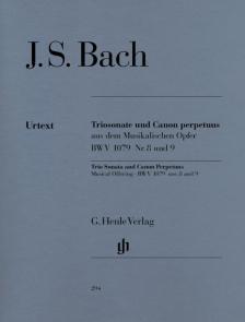 J. S. Bach - TRIOSONATE UND CANON PERPETUUS BWV 1079 NR.8 UND 9 URTEXT (EPPSTEIN)