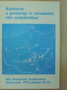 Andrásfalvy Bertalan - Kutatások a gazdasági és társadalmi élet szolgálatában [antikvár]