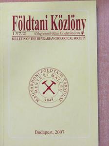 Botár Miklós - Földtani Közlöny 2007/2. [antikvár]