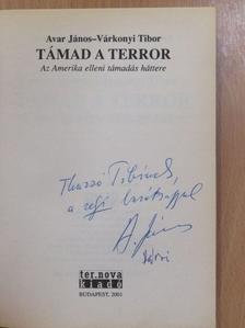 Avar János - Támad a terror (dedikált példány) [antikvár]