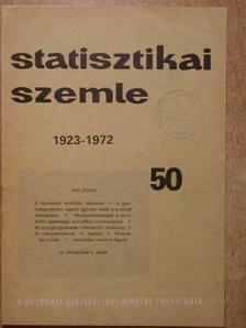 Dr. Andorka Rudolf - Statisztikai Szemle 1972. június [antikvár]