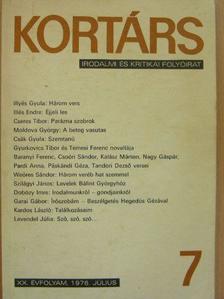 Baranyi Ferenc - Kortárs 1976. július [antikvár]