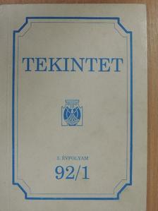 Baán Tibor - Tekintet 1992/1 [antikvár]