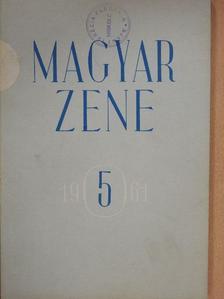 Bónis Ferenc - Magyar zene 1961/5. [antikvár]