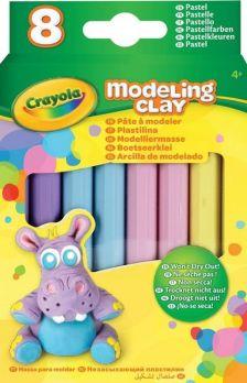 Crayola Gyurma 8 db, pasztell színek