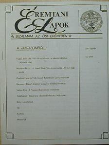 Gosztonyi József - Éremtani Lapok 1997. április [antikvár]