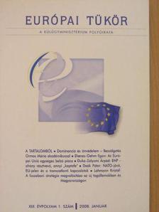 Deák Péter - Európai Tükör 2008. január [antikvár]