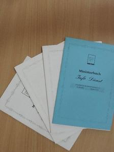 Angelika Jäck - Miniaturbuch Info-Dienst 2002/1-4. [antikvár]