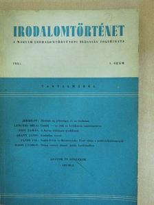 Arany János - Irodalomtörténet 1951/1. [antikvár]