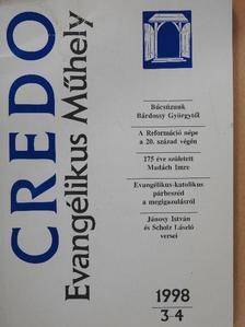 Bozóky Éva - Credo 1998/3-4. [antikvár]