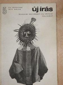 Ágh István - Új Írás 1974. május [antikvár]