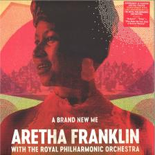 ARETHA FRANKLIN - A BRAND NEW ME LP ARETHA FRANKLIN WITH THE ROYAL PHILHARMONIC ORCHESTRA