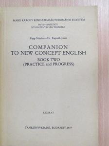 Dr. Rapcsák János - Companion to New Concept English II. [antikvár]