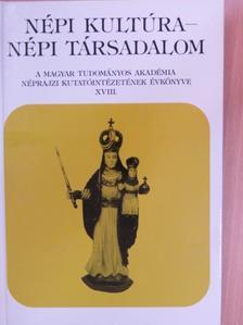 Barna Gábor - Népi kultúra - Népi társadalom XVIII. [antikvár]
