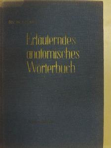 Donáth Tibor - Erläuterndes Anatomisches Wörterbuch [antikvár]