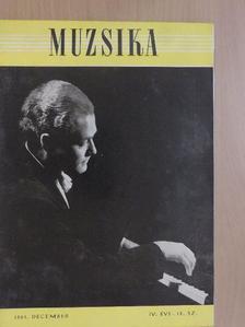 Abody Béla - Muzsika 1961. december [antikvár]