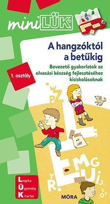 LDI234 - A hangzóktól a betűkig - miniLÜK - Bevezető gyakorlatok olvasástanuláshoz 6-8 éveseknek