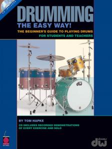 HAPKE, TOM - DRUMMING THE EASY WAY! AUDIO ACCES INCLUDED