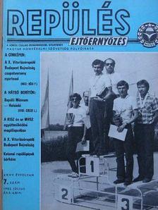 Cziráki László - Repülés-ejtőernyőzés 1982. július [antikvár]