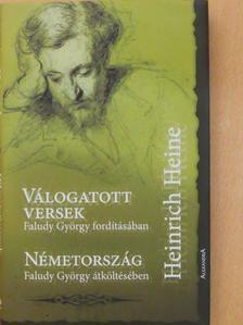 Heinrich Heine - Válogatott versek/Németország [antikvár]