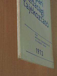 Borlai Oszkár - Vegyipari Gazdasági Tájékoztató 1973/5. [antikvár]
