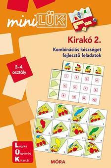 LDI604 - Kirakó 2. - miniLÜK - Kombinációs készséget fejlesztő füzet 2-4.
