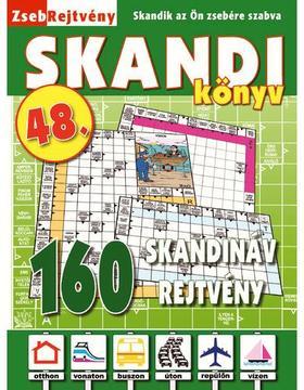 CSOSCH KIADÓ - ZsebRejtvény SKANDI Könyv 48.
