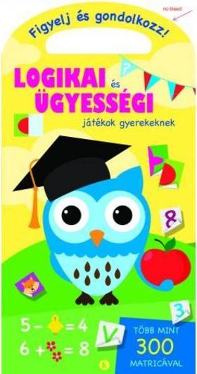 Szalay Könyvkiadó - Logikai és ügyességi játékok gyerekeknek