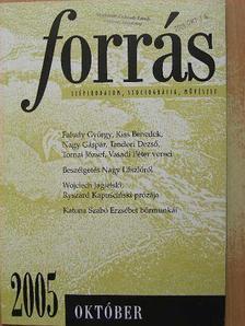 Vasadi Péter - Forrás 2005. október [antikvár]