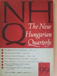 Aczél György - The New Hungarian Quarterly Autumn 1985. [antikvár]