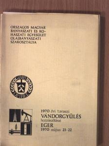 Alfred Hackel - 1970. évi tavaszi vándorgyűlés hozzászólásai [antikvár]