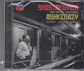 SHOSTAKOVICH - PIANO TRIOS 1&2,VIOLIN SONATA,CD