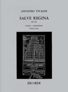 Vivaldi - SALVE REGINA RV 616 CANTO E PIANOFORTE