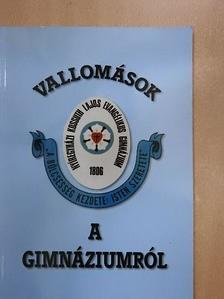Balczó András - Vallomások a gimnáziumról [antikvár]