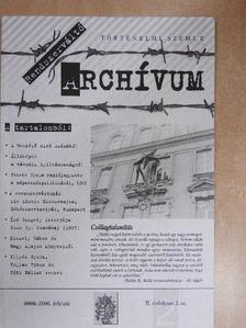 Fekete Gyula - Rendszerváltó Archívum 2006. február [antikvár]
