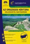 Cartographia Kiadó - Az Országos Kéktúra turistakalauz - Hollóházától Nagymarosig