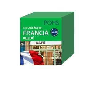 VIDA ENIKŐ - PONS 333 Szókártya Francia kezdő