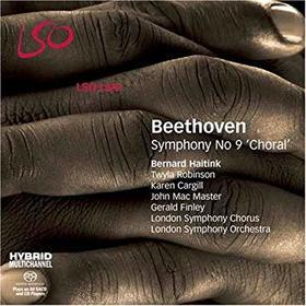 """BEETHOVEN - SYMPHONY NO.9 """"CHORAL"""" CD BERNARD HAITINK"""