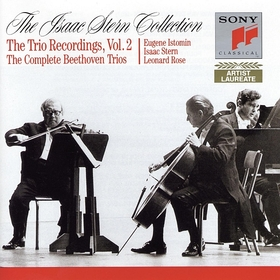 BEETHOVEN - THE COMPLETE PIANO TRIOS 4CD STERN, ROSE, ISTOMIN
